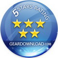 5 stars award from www.download25.com